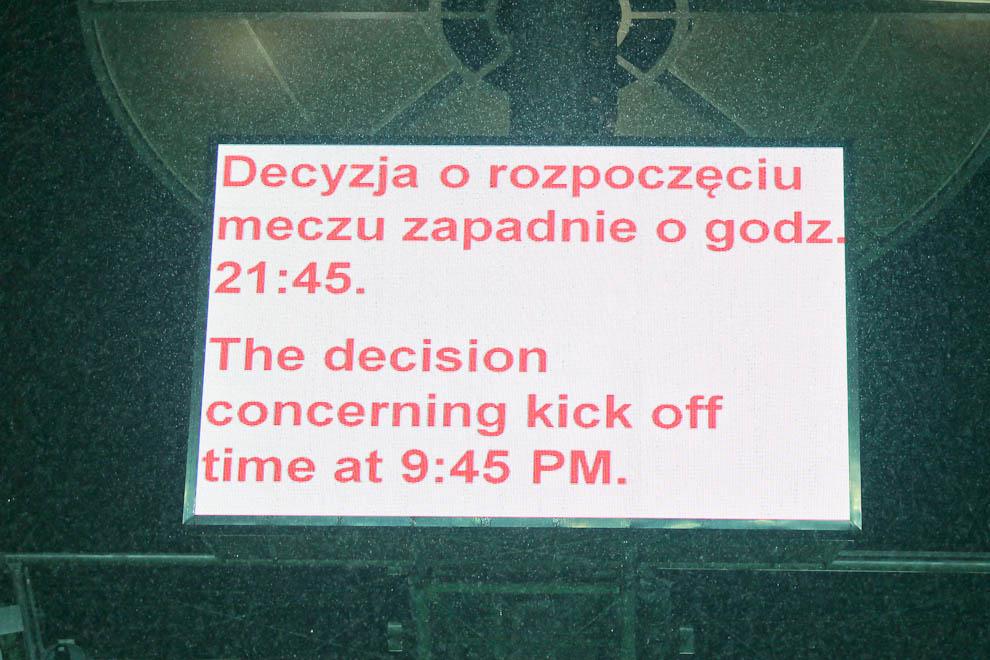 Polska - Anglia - mecz odwołany - fot. Piotr Galas (zdjęcie 11 z 30)