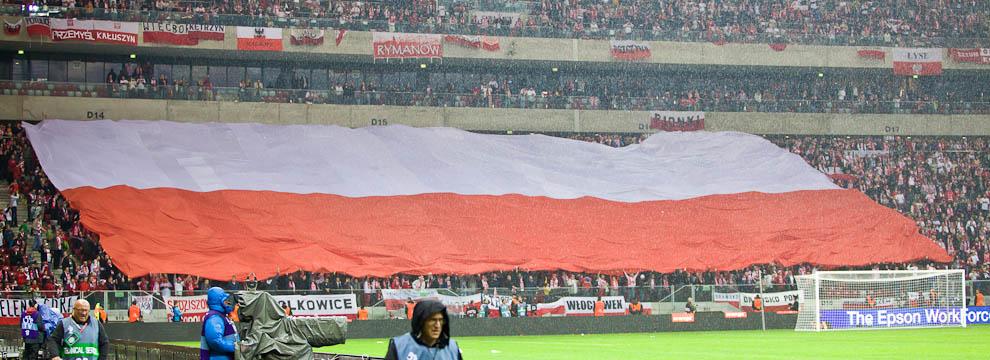 Polska - Anglia - mecz odwołany - fot. Piotr Galas (zdjęcie 21 z 30)