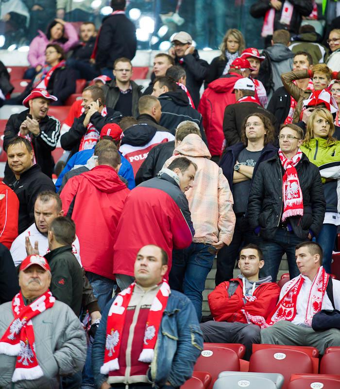 Polska - Anglia - mecz odwołany - fot. Piotr Galas (zdjęcie 23 z 30)