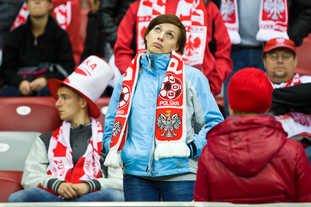 Polska - Anglia - mecz odwołany - fot. Piotr Galas (zdjęcie 24 z 30)