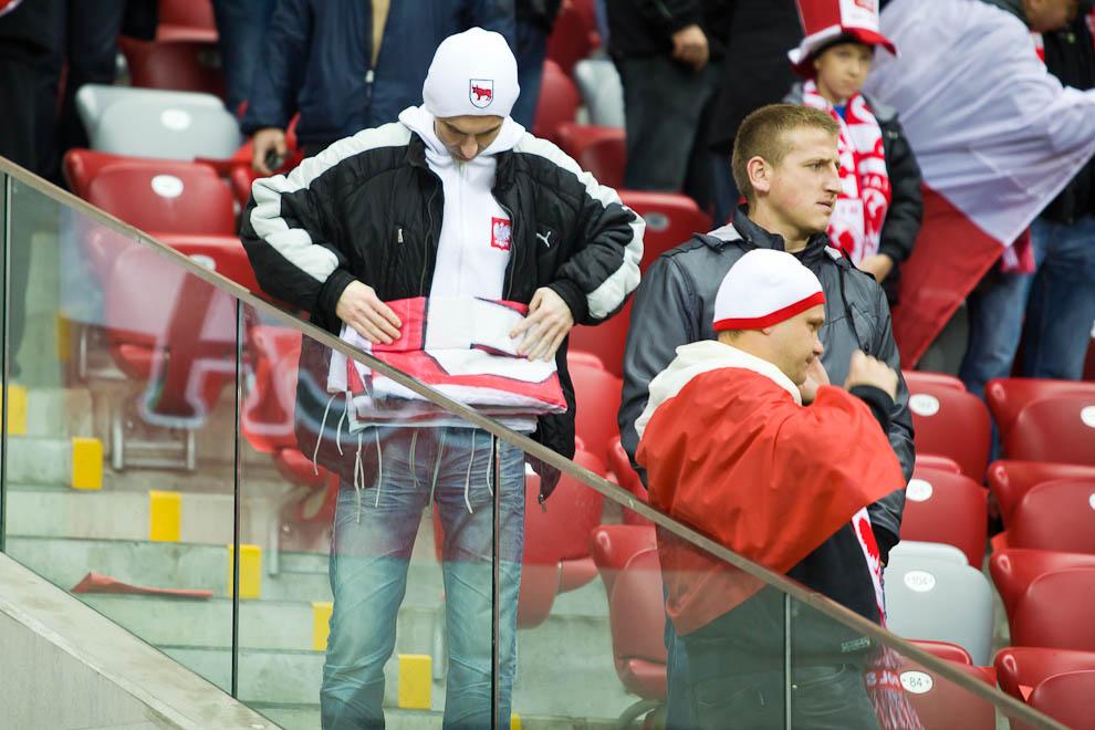 Polska - Anglia - mecz odwołany - fot. Piotr Galas (zdjęcie 27 z 30)
