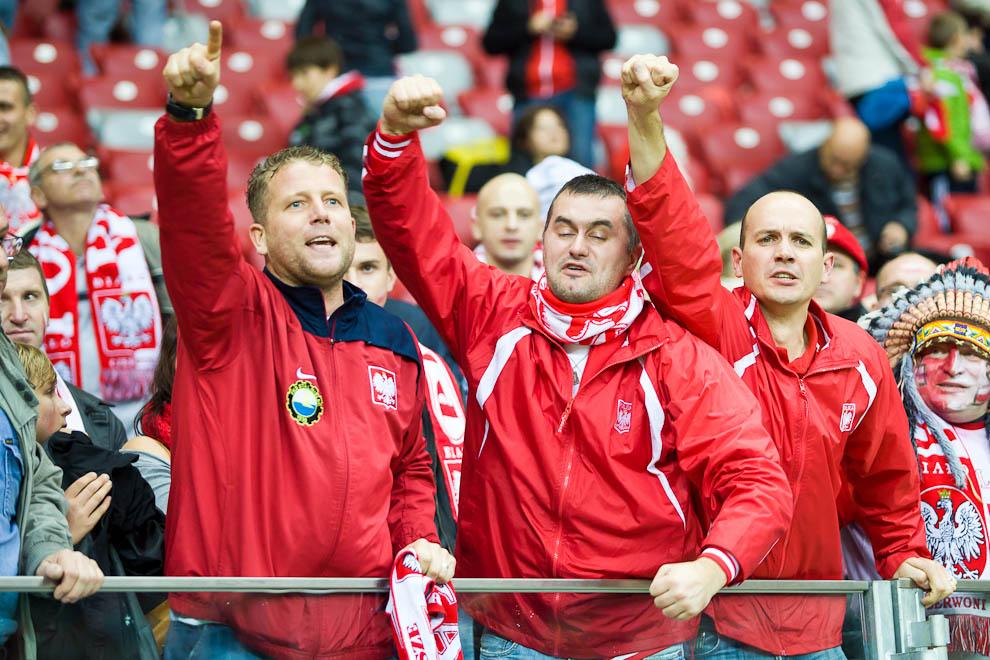 Polska - Anglia - mecz odwołany - fot. Piotr Galas (zdjęcie 28 z 30)