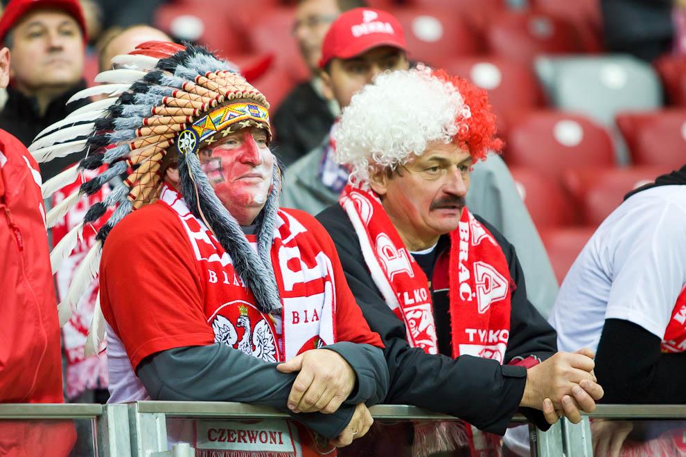 Polska - Anglia - mecz odwołany - fot. Piotr Galas (zdjęcie 29 z 30)