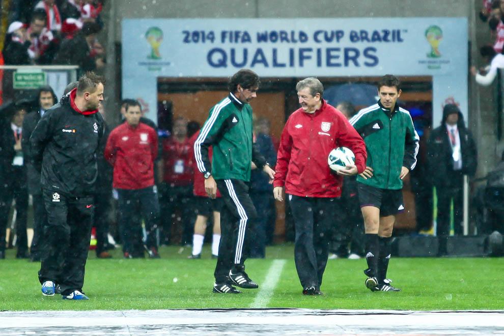 Polska - Anglia - mecz odwołany - fot. Piotr Galas (zdjęcie 5 z 30)
