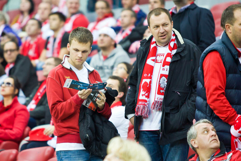 Polska 1-1 Anglia - fot. Piotr Galas (zdjęcie 22 z 60)