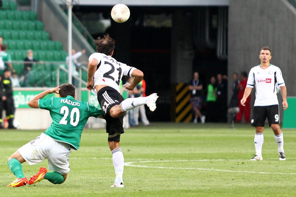 Legia Warszawa 3-1 SV Ried im Innkreis - fot. Piotr Galas/wiadomosci24.pl (zdjęcie 19 z 78)