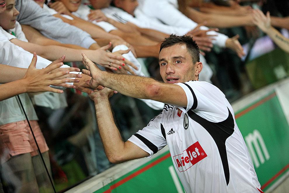 Legia Warszawa 3-1 SV Ried im Innkreis - fot. Piotr Galas/wiadomosci24.pl (zdjęcie 75 z 78)