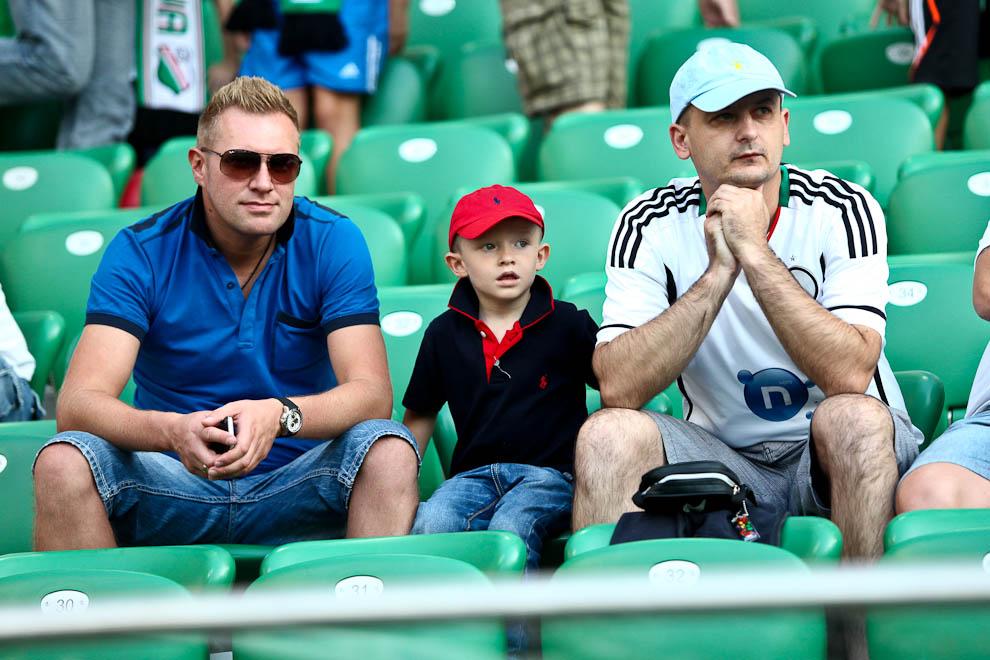 Legia Warszawa 1-1 Rosenborg Trondheim - fot. Piotr Galas/Wiadomosci24.pl (zdjęcie 1 z 71)