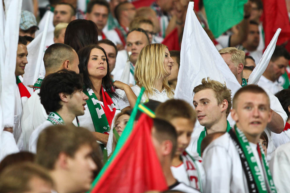 Legia Warszawa 1-1 Rosenborg Trondheim - fot. Piotr Galas/Wiadomosci24.pl (zdjęcie 38 z 71)