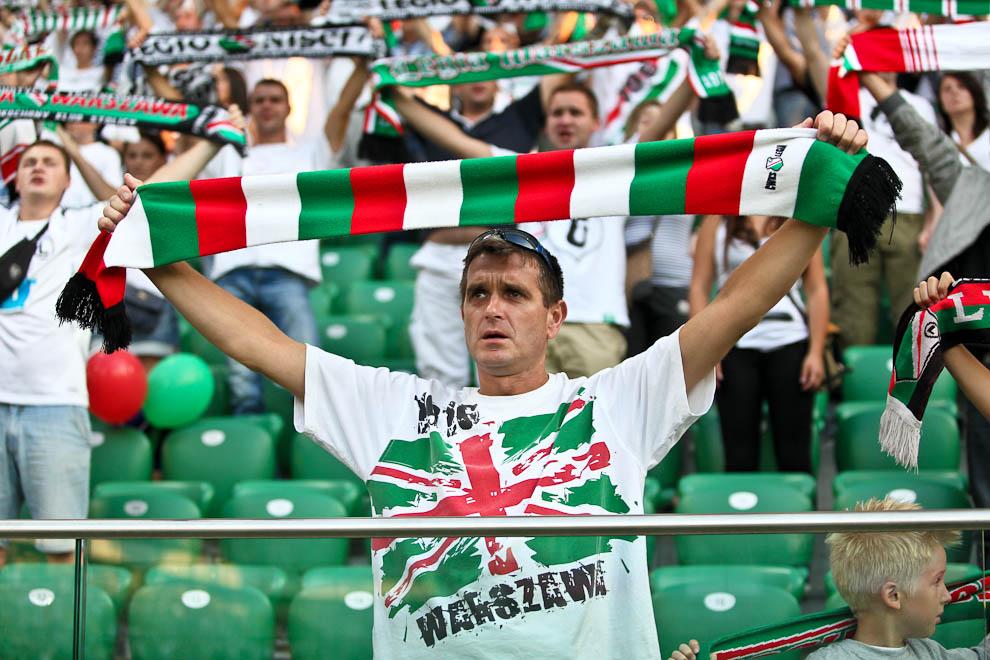 Legia Warszawa 1-1 Rosenborg Trondheim - fot. Piotr Galas/Wiadomosci24.pl (zdjęcie 4 z 71)