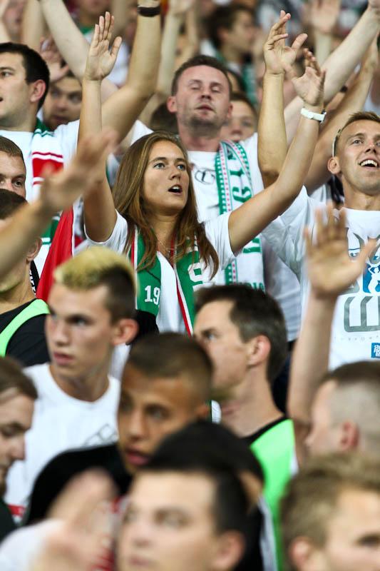 Legia Warszawa 1-1 Rosenborg Trondheim - fot. Piotr Galas/Wiadomosci24.pl (zdjęcie 41 z 71)