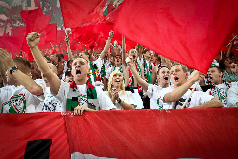 Legia Warszawa 1-1 Rosenborg Trondheim - fot. Piotr Galas/Wiadomosci24.pl (zdjęcie 45 z 71)