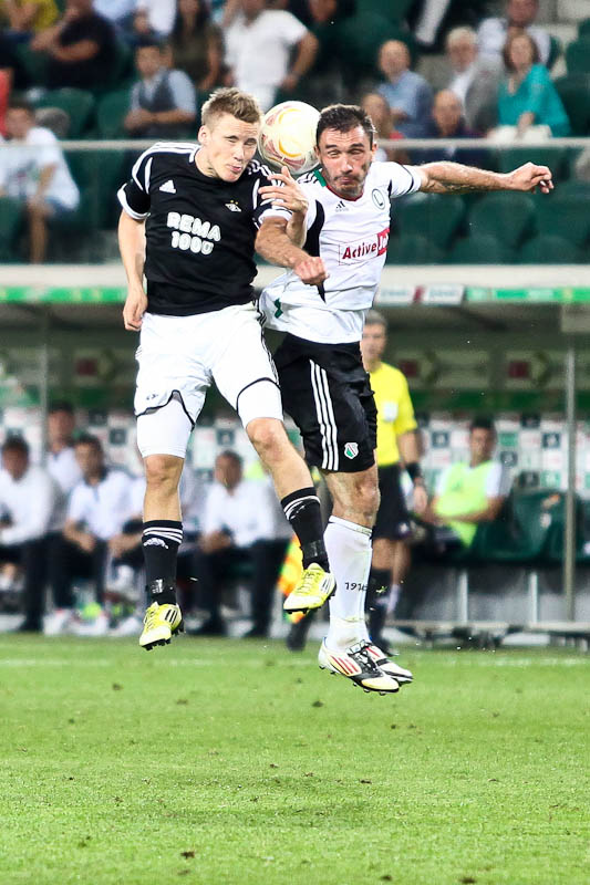 Legia Warszawa 1-1 Rosenborg Trondheim - fot. Piotr Galas/Wiadomosci24.pl (zdjęcie 54 z 71)