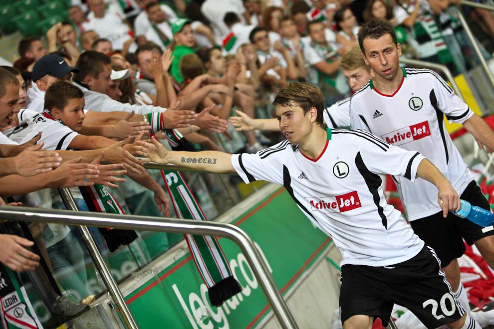 Legia Warszawa 1-1 Rosenborg Trondheim - fot. Piotr Galas/Wiadomosci24.pl (zdjęcie 69 z 71)
