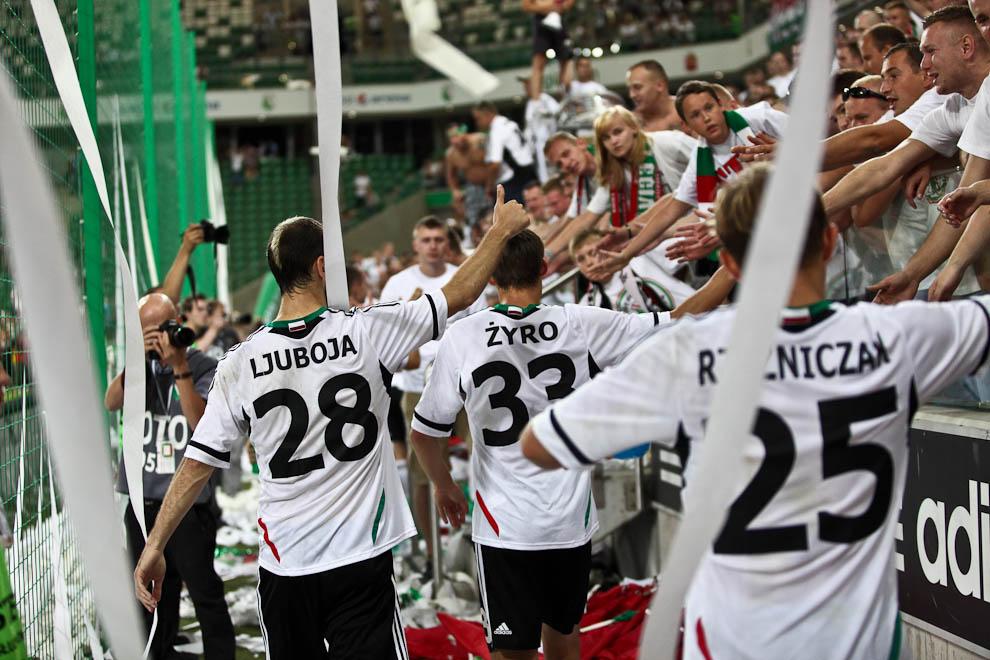 Legia Warszawa 1-1 Rosenborg Trondheim - fot. Piotr Galas/Wiadomosci24.pl (zdjęcie 70 z 71)