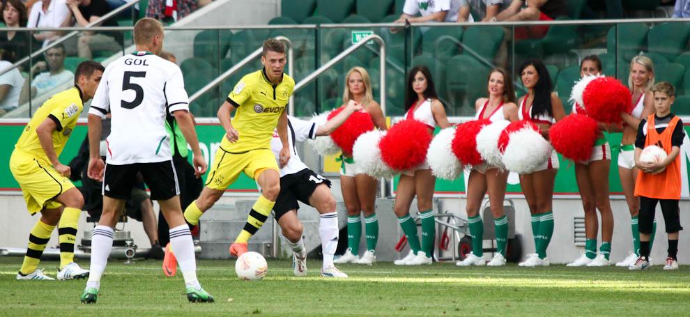 Sparing: Legia Warszawa 0-1 Borussia Dortmund - fot. Piotr Galas (zdjęcie 10 z 65)