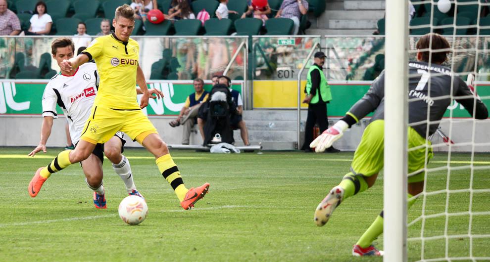 Sparing: Legia Warszawa 0-1 Borussia Dortmund - fot. Piotr Galas (zdjęcie 11 z 65)