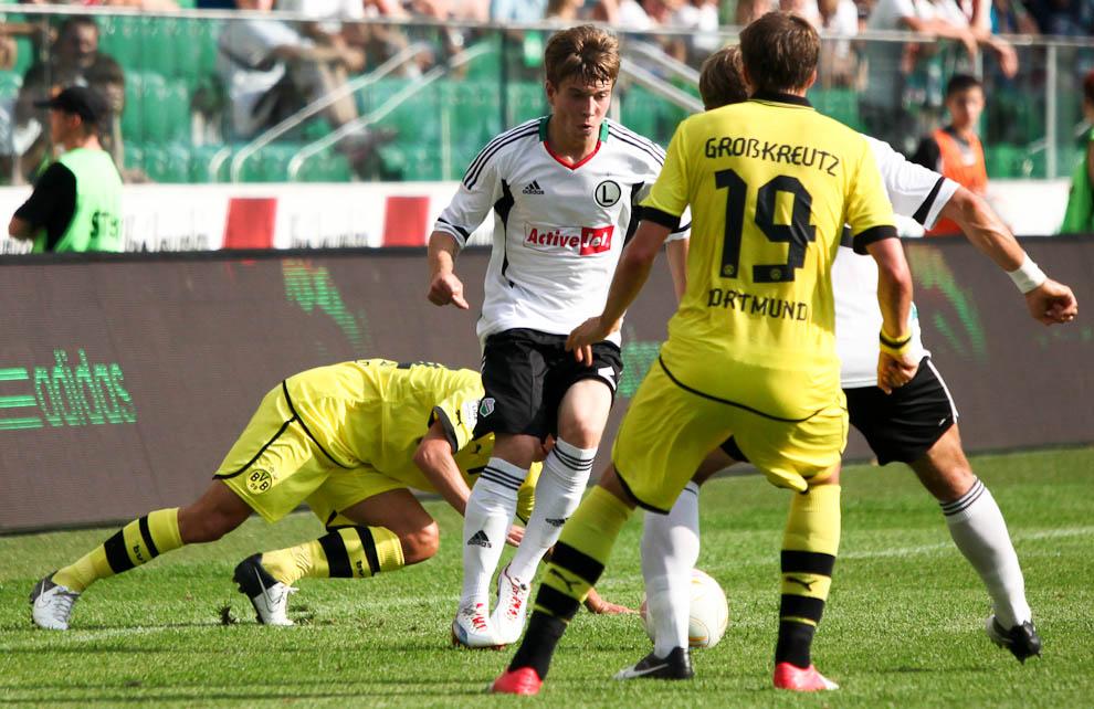 Sparing: Legia Warszawa 0-1 Borussia Dortmund - fot. Piotr Galas (zdjęcie 13 z 65)