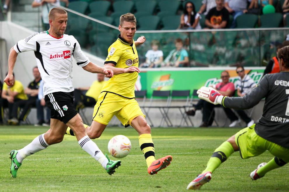 Sparing: Legia Warszawa 0-1 Borussia Dortmund - fot. Piotr Galas (zdjęcie 14 z 65)