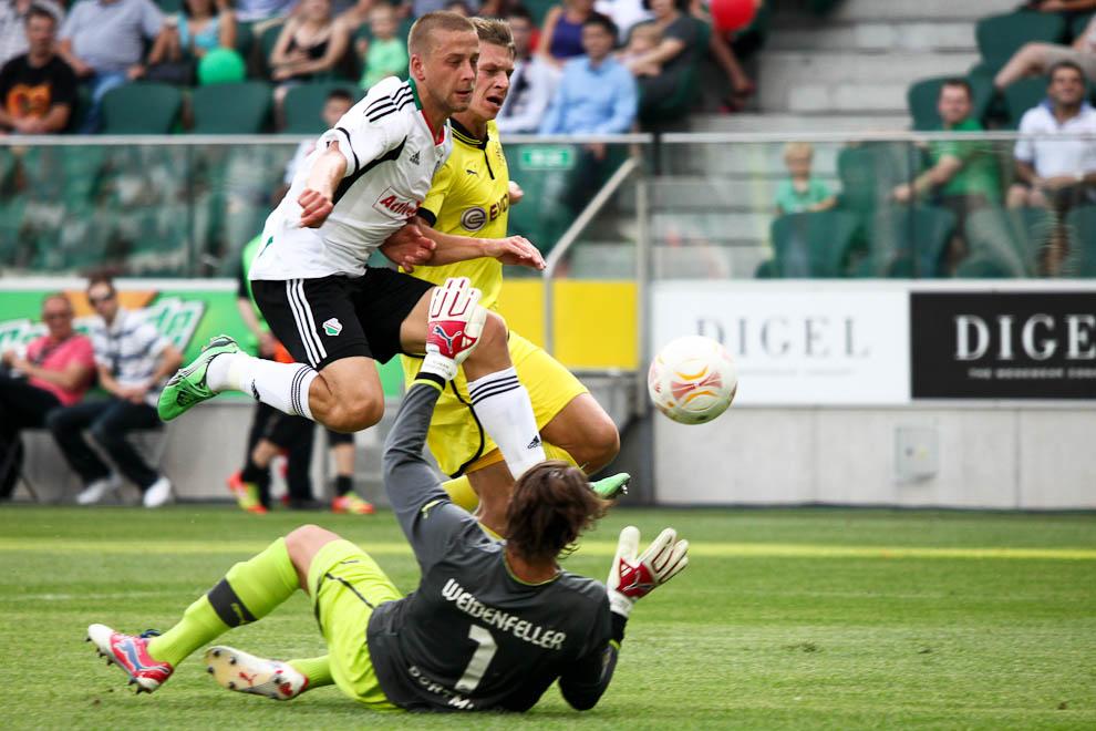 Sparing: Legia Warszawa 0-1 Borussia Dortmund - fot. Piotr Galas (zdjęcie 15 z 65)