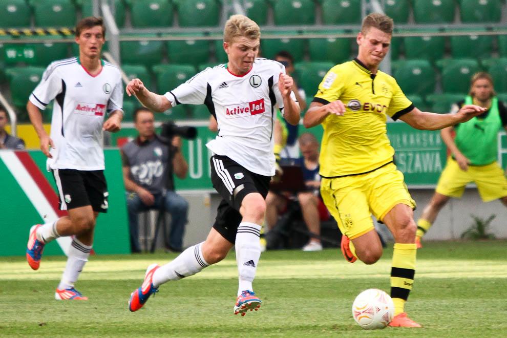 Sparing: Legia Warszawa 0-1 Borussia Dortmund - fot. Piotr Galas (zdjęcie 17 z 65)