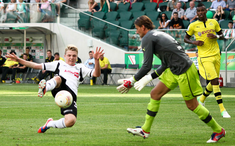 Sparing: Legia Warszawa 0-1 Borussia Dortmund - fot. Piotr Galas (zdjęcie 18 z 65)