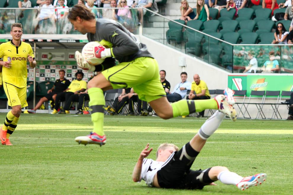 Sparing: Legia Warszawa 0-1 Borussia Dortmund - fot. Piotr Galas (zdjęcie 19 z 65)