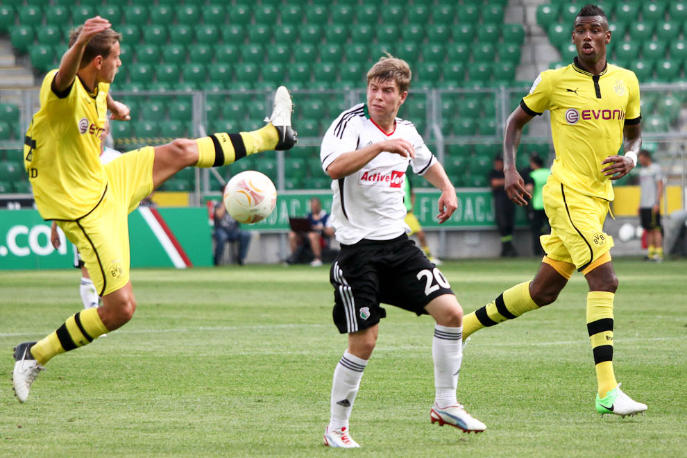 Sparing: Legia Warszawa 0-1 Borussia Dortmund - fot. Piotr Galas (zdjęcie 21 z 65)