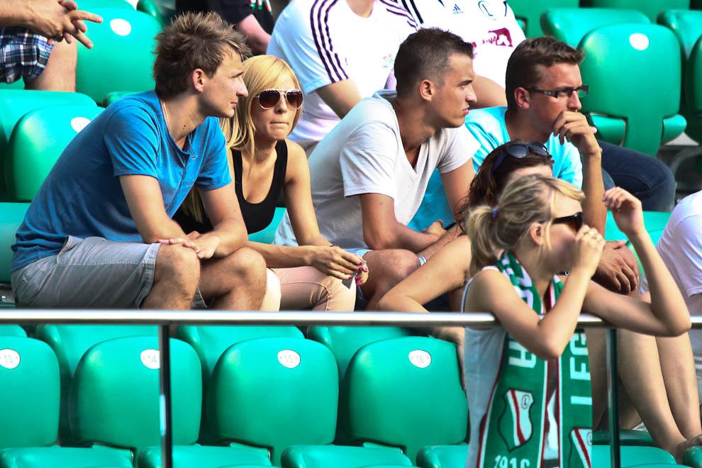 Sparing: Legia Warszawa 0-1 Borussia Dortmund - fot. Piotr Galas (zdjęcie 25 z 65)