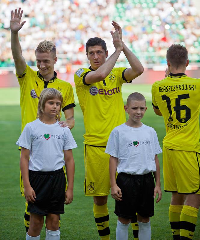 Sparing: Legia Warszawa 0-1 Borussia Dortmund - fot. Piotr Galas (zdjęcie 3 z 65)