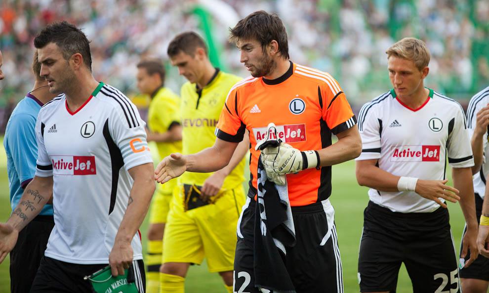 Sparing: Legia Warszawa 0-1 Borussia Dortmund - fot. Piotr Galas (zdjęcie 4 z 65)