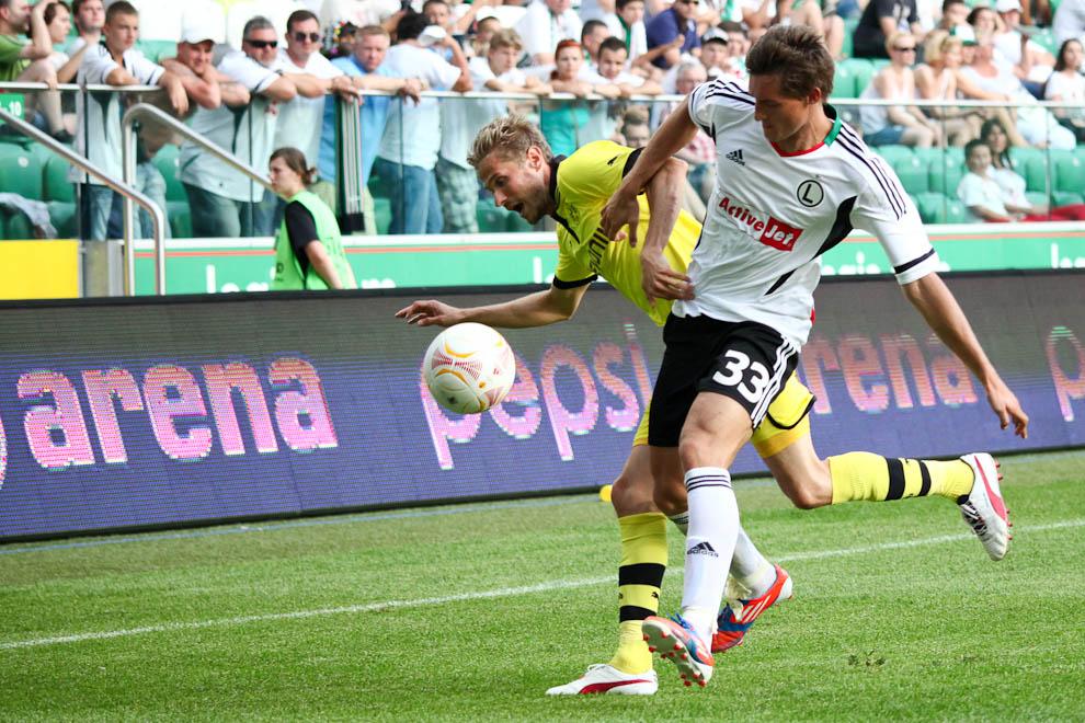 Sparing: Legia Warszawa 0-1 Borussia Dortmund - fot. Piotr Galas (zdjęcie 44 z 65)
