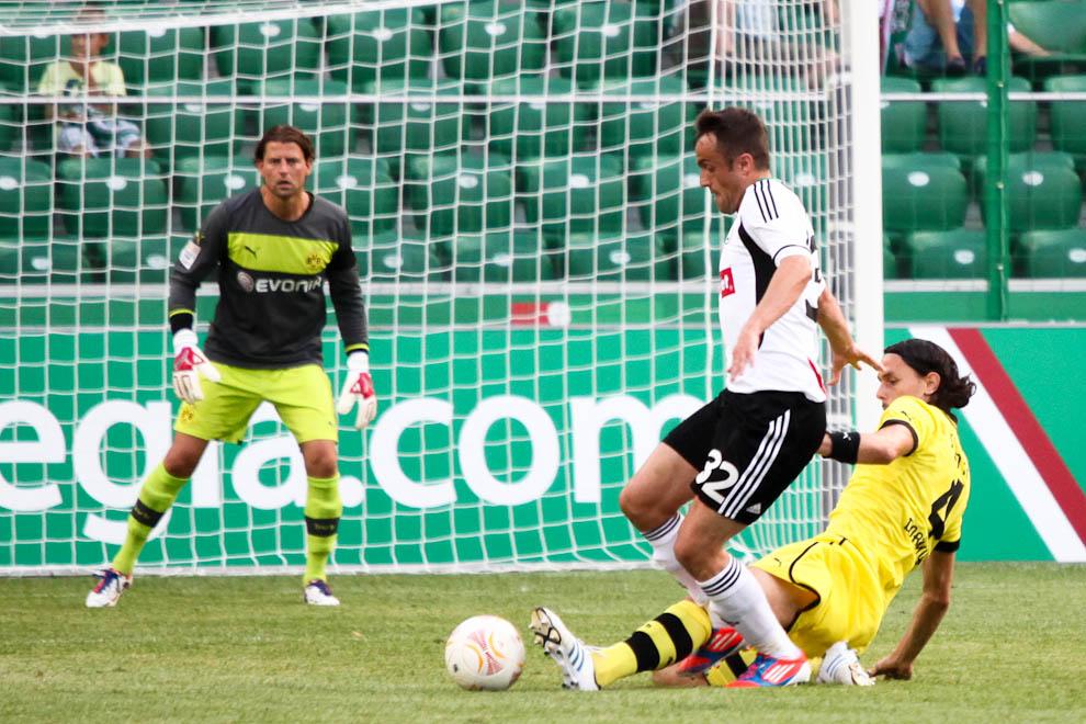 Sparing: Legia Warszawa 0-1 Borussia Dortmund - fot. Piotr Galas (zdjęcie 45 z 65)
