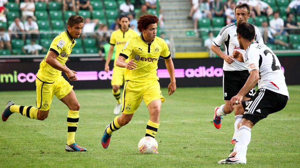 Sparing: Legia Warszawa 0-1 Borussia Dortmund - fot. Piotr Galas (zdjęcie 46 z 65)