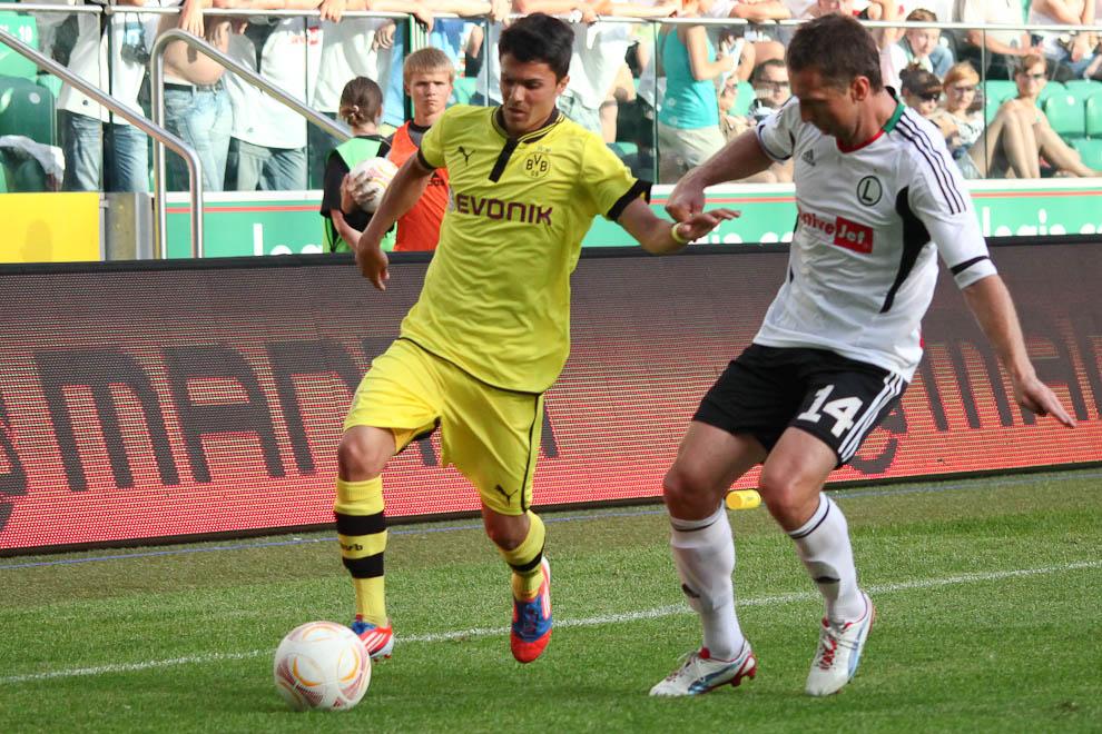 Sparing: Legia Warszawa 0-1 Borussia Dortmund - fot. Piotr Galas (zdjęcie 47 z 65)