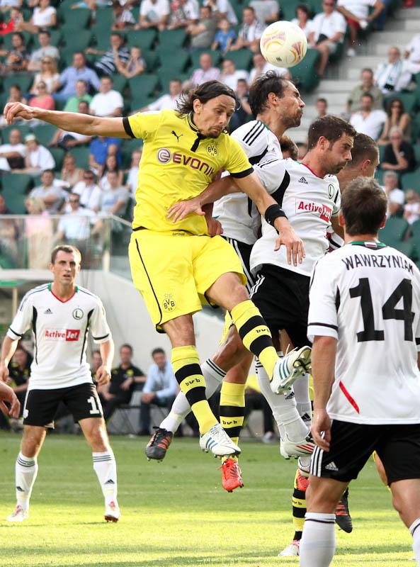 Sparing: Legia Warszawa 0-1 Borussia Dortmund - fot. Piotr Galas (zdjęcie 49 z 65)