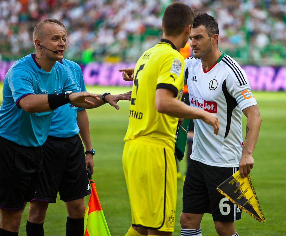 Sparing: Legia Warszawa 0-1 Borussia Dortmund - fot. Piotr Galas (zdjęcie 5 z 65)