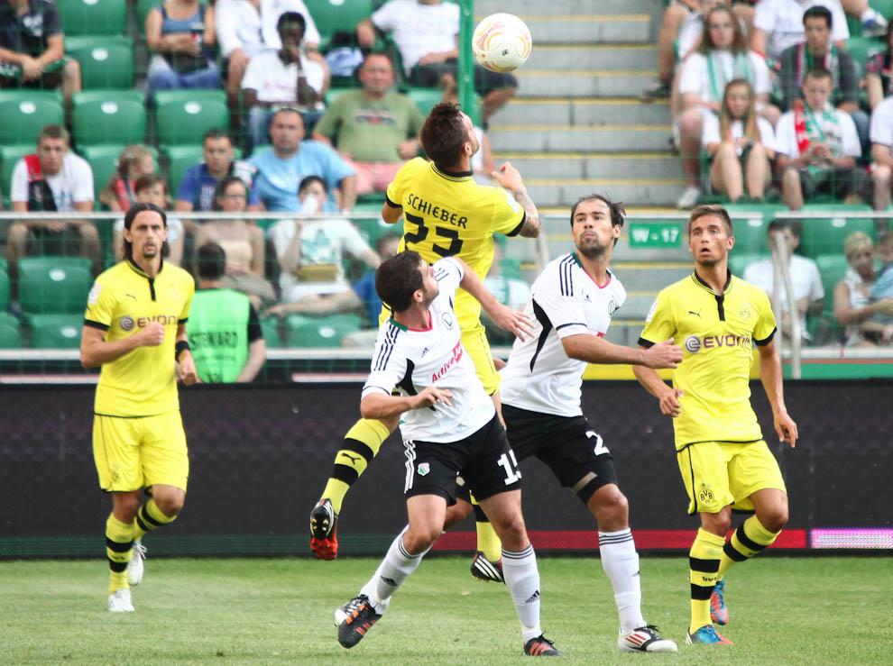 Sparing: Legia Warszawa 0-1 Borussia Dortmund - fot. Piotr Galas (zdjęcie 51 z 65)