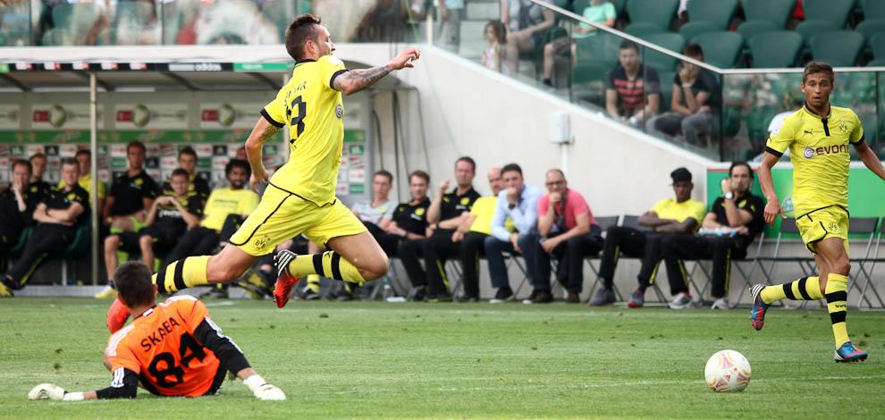 Sparing: Legia Warszawa 0-1 Borussia Dortmund - fot. Piotr Galas (zdjęcie 52 z 65)