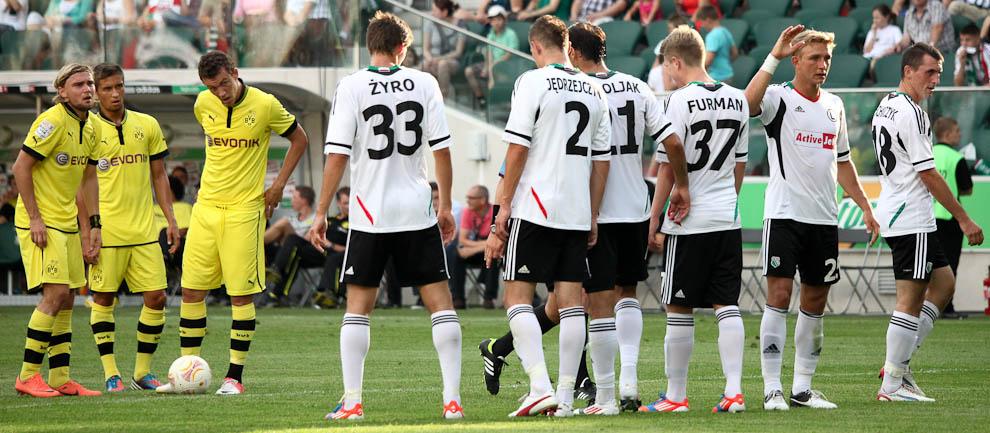 Sparing: Legia Warszawa 0-1 Borussia Dortmund - fot. Piotr Galas (zdjęcie 54 z 65)