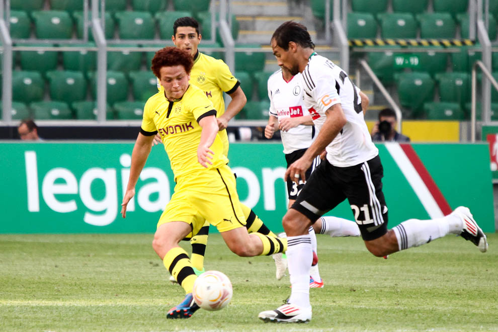Sparing: Legia Warszawa 0-1 Borussia Dortmund - fot. Piotr Galas (zdjęcie 55 z 65)