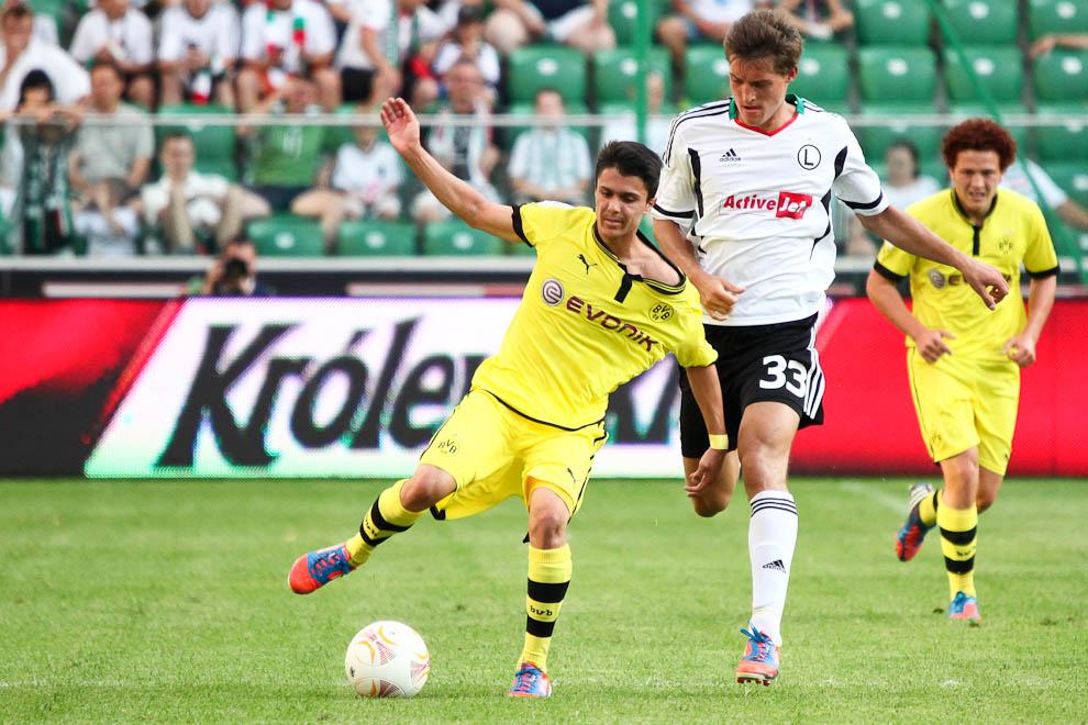 Sparing: Legia Warszawa 0-1 Borussia Dortmund - fot. Piotr Galas (zdjęcie 56 z 65)