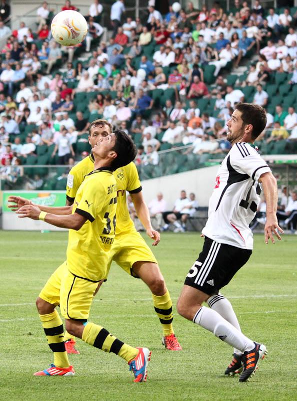 Sparing: Legia Warszawa 0-1 Borussia Dortmund - fot. Piotr Galas (zdjęcie 59 z 65)