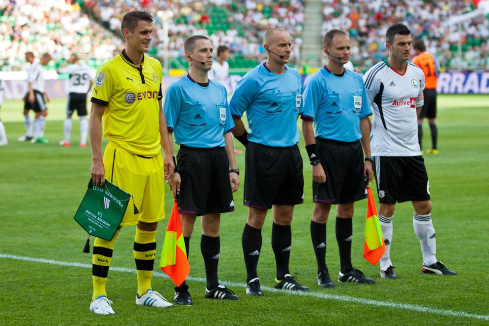 Sparing: Legia Warszawa 0-1 Borussia Dortmund - fot. Piotr Galas (zdjęcie 6 z 65)