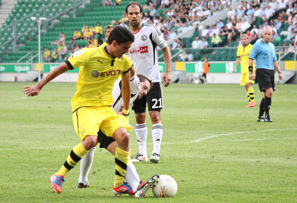 Sparing: Legia Warszawa 0-1 Borussia Dortmund - fot. Piotr Galas (zdjęcie 60 z 65)