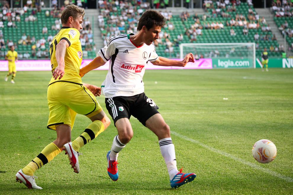 Sparing: Legia Warszawa 0-1 Borussia Dortmund - fot. Piotr Galas (zdjęcie 64 z 65)