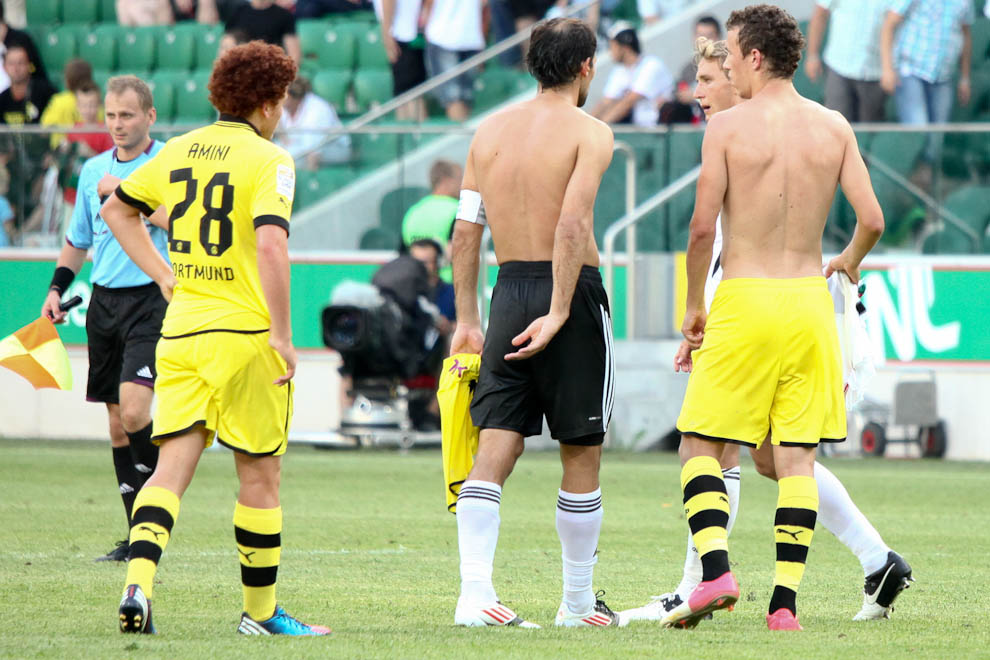 Sparing: Legia Warszawa 0-1 Borussia Dortmund - fot. Piotr Galas (zdjęcie 65 z 65)