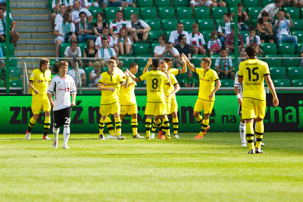 Sparing: Legia Warszawa 0-1 Borussia Dortmund - fot. Piotr Galas (zdjęcie 7 z 65)