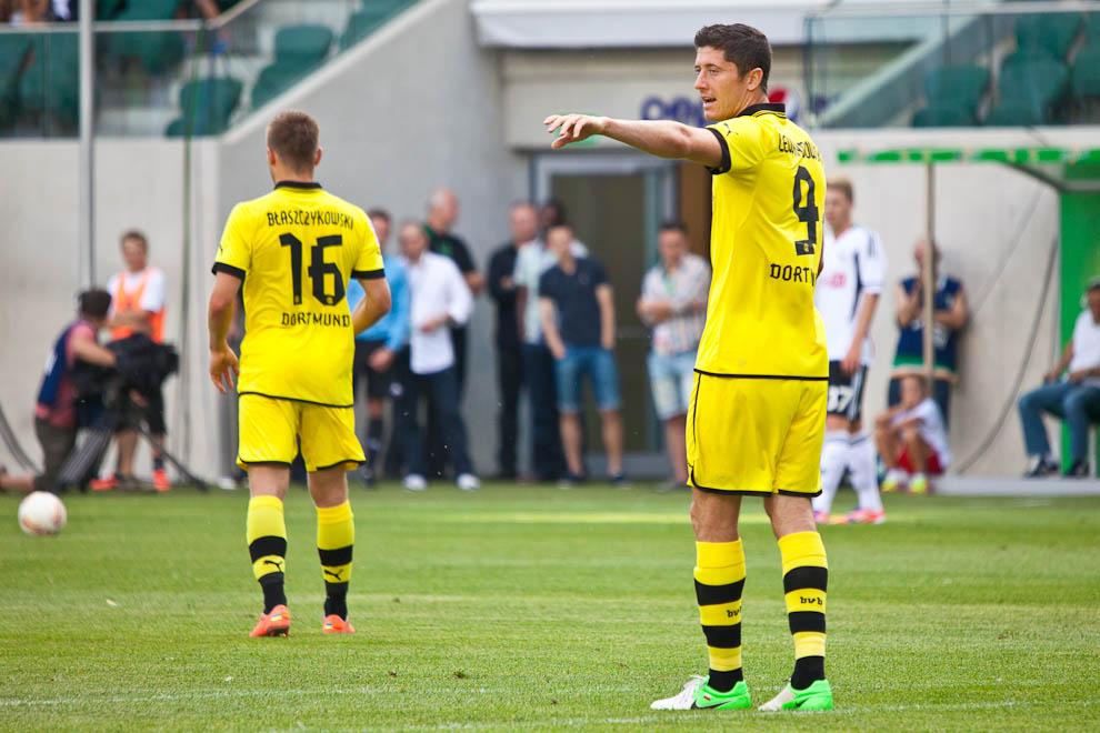 Sparing: Legia Warszawa 0-1 Borussia Dortmund - fot. Piotr Galas (zdjęcie 9 z 65)