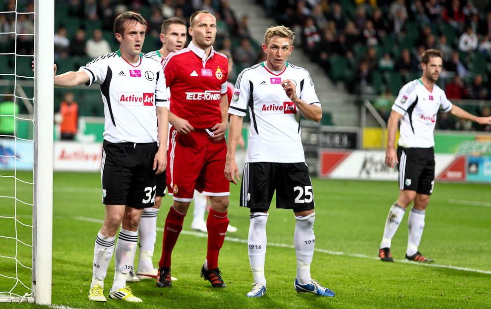 Legia Warszawa 2-1 Wisła Kraków - fot. Piotr Galas / Wiadomosci24.pl (zdjęcie 20 z 65)